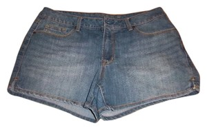 Faded Glory Mini/Short Shorts Blue Jean