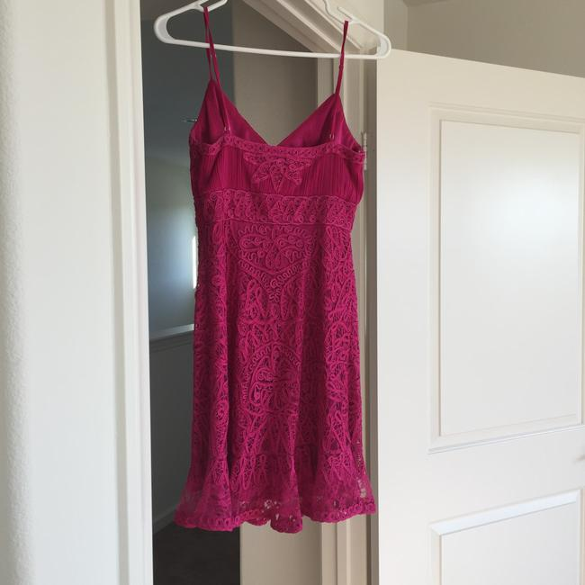 Sue Wong short dress Pink on Tradesy
