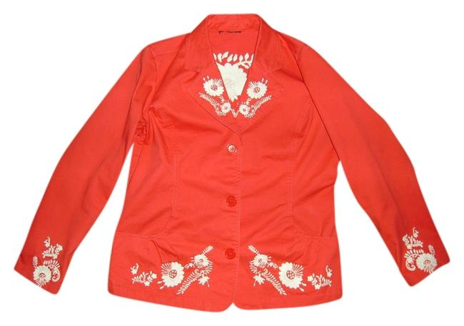 Preload https://item5.tradesy.com/images/coral-blazer-size-12-l-529624-0-0.jpg?width=400&height=650