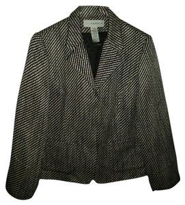 Sag Harbor Black/white Blazer