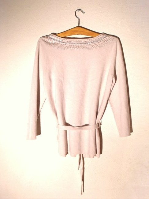 Ann Taylor LOFT Belted Sequined Cardigan