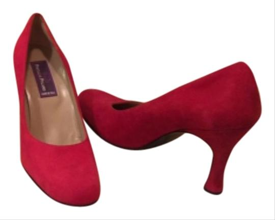 Phylis Poland Red Cherry Pumps
