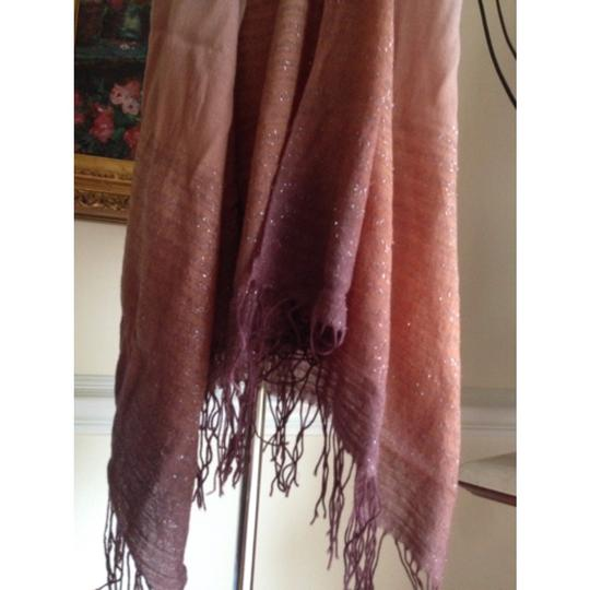 Cashmere Pashmina Group Pink Bling Wool Silk Large