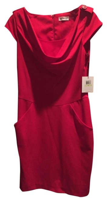 Preload https://img-static.tradesy.com/item/5296753/calvin-klein-red-cd2x1nbc-knee-length-workoffice-dress-size-4-s-0-0-650-650.jpg