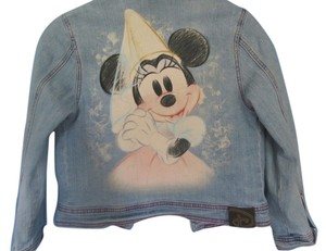 Disney blue denim Womens Jean Jacket