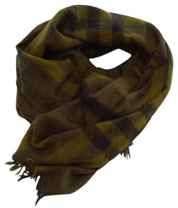 Burberry Burberry Bioled Brit Giant Check Cashmere/Merino Scarf