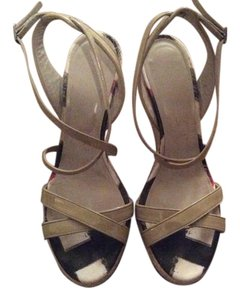 Burberry Light Grey Sandals