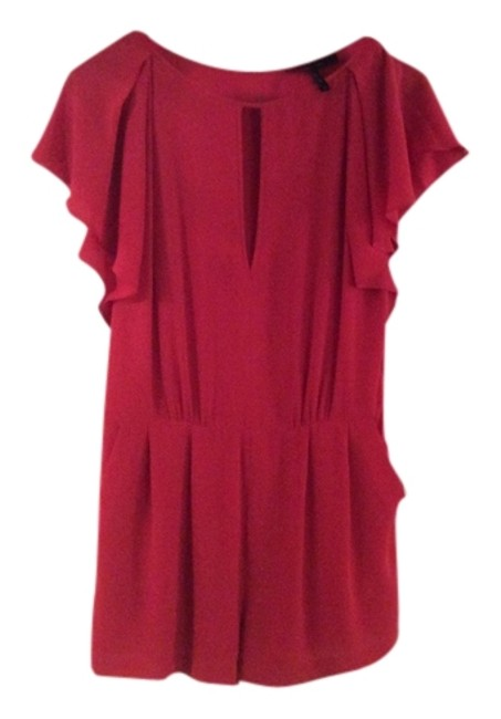 Preload https://item1.tradesy.com/images/bcbgmaxazria-red-above-knee-romperjumpsuit-size-8-m-5297455-0-0.jpg?width=400&height=650