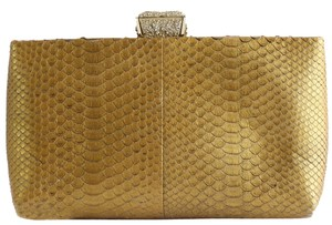 Chanel Dark Gold Clutch