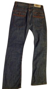 Traverniti Boot Cut Jeans-Distressed