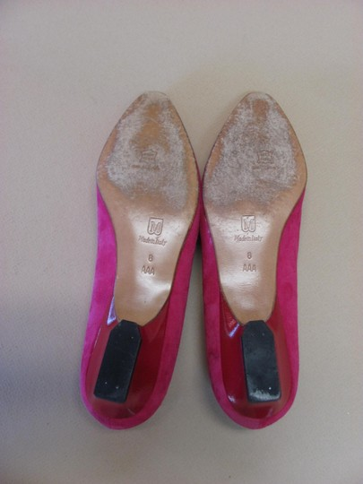 Bruno Magli Very Good Condtion Leather Size 8 M Pink Pumps