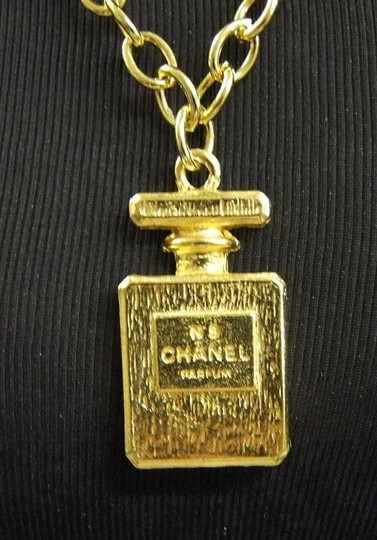 Chanel Authentic Vintage CHANEL Large Perfume Bottle Necklace