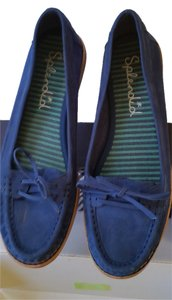 Splendid Blue Flats