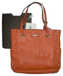 Calvin Klein Tote in Burnt Orange
