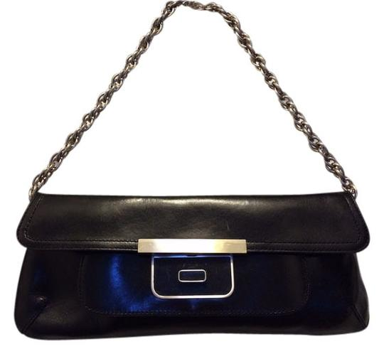 Preload https://img-static.tradesy.com/item/529926/kenneth-cole-black-leather-clutch-0-0-540-540.jpg