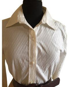 Banana Republic Button Down Shirt Cream