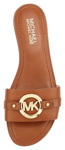 Michael Kors Molly Sandal luggage Sandals