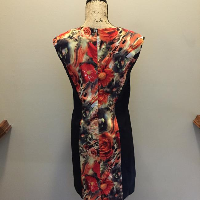 Tinley Road short dress Black & Red Rose Floral Above Knee Trendy on Tradesy
