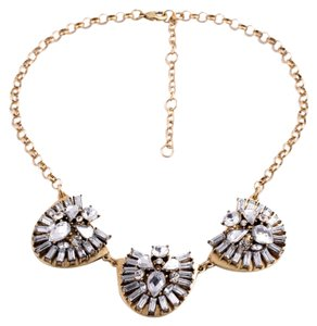 Private Collection Gold Crystal Modern Necklace