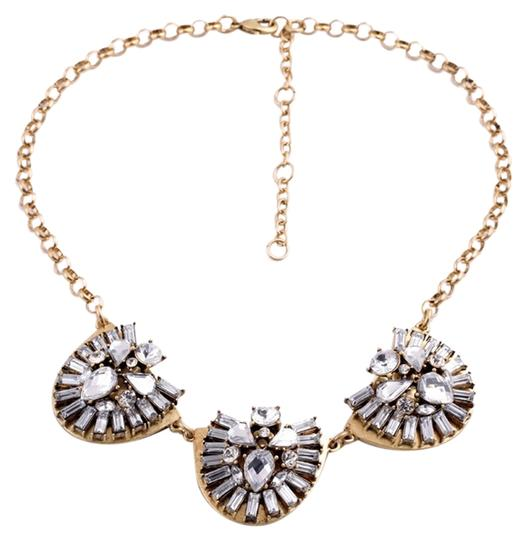 Other Gold Crystal Modern Necklace