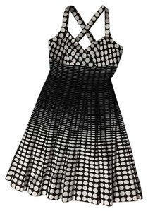 Calvin Klein short dress Black and white on Tradesy