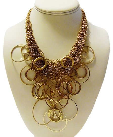 Other 16 Inch Circle Bib Necklace with Extender