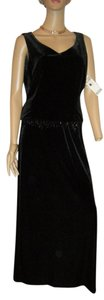 JR NITES & DRESS BARN Stretch Velvet Dress