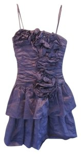 BCBGMAXAZRIA Textured Taffeta Dress