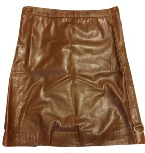 Marc Jacobs Skirt brown leather
