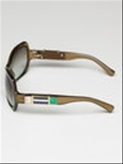 Marc Jacobs Marc Jacobs Mosaic Brown Sunglasses with Precious Stones Image 2