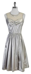 Plenty by Tracy Reese short dress Metallic Sleeveless on Tradesy