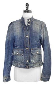 Dolce&Gabbana Distressed Denim Womens Jean Jacket