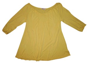 Old Navy Rayon Top Yellow