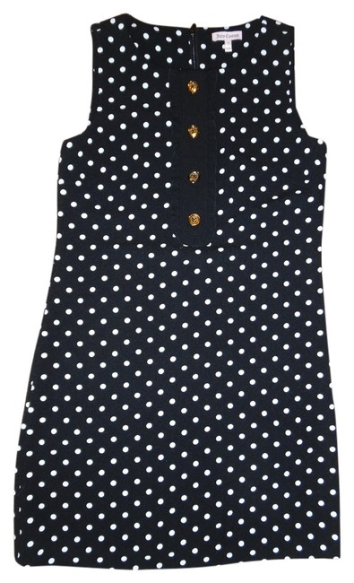 Preload https://item1.tradesy.com/images/juicy-couture-black-white-polka-dot-mod-above-knee-night-out-dress-size-0-xs-5300890-0-0.jpg?width=400&height=650