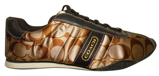 Coach Leather brown Athletic