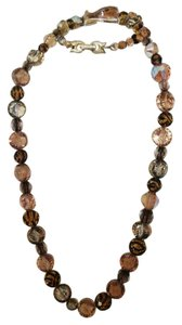 Kramer Signed Kramer Single Strand Glass Beads Graduated Necklace