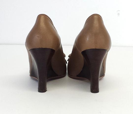 Hugo Boss Leather Heels Wedges