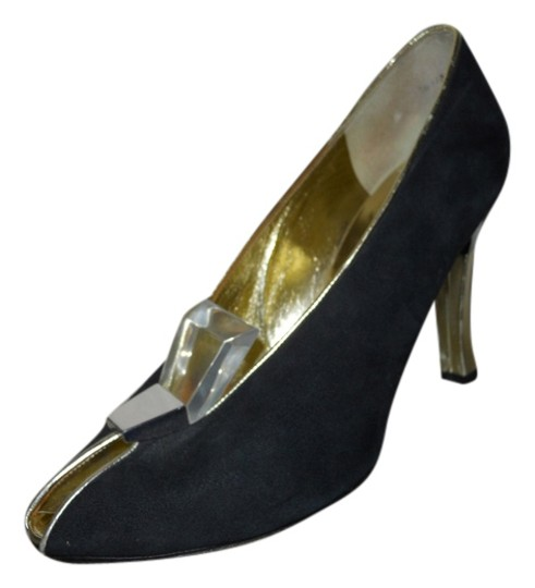 Preload https://img-static.tradesy.com/item/5301085/charles-jourdan-black-and-gold-suede-pumps-size-us-85-regular-m-b-0-0-540-540.jpg