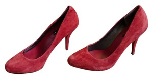 Banana Republic Mad Men Retro Vintage Br Red Rouge Pumps