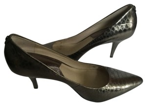 Michael by Michael Kors Silver Pumps