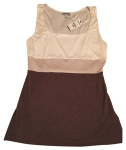 Express Top Beige, cream, & Brown