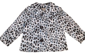 Vertigo Small Multicolor Animal Print Blazer