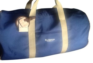 Burberry Slate Blue Travel Bag