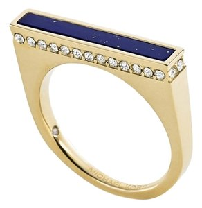 Michael Kors **See Commission at END of Description** Gold-Tone Lapis Bar Ring
