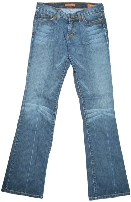 Plastic by Gly Flare Leg Jeans