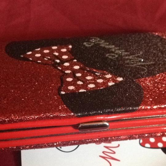 Disney Minnie Mouse Red Glitter 5c Cellphone Wallet