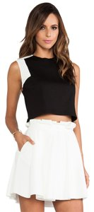Torn by Ronny Kobo Color-blocking Contrast T Shirt