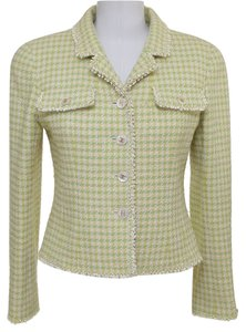 Chanel Yellow, Green, White Blazer