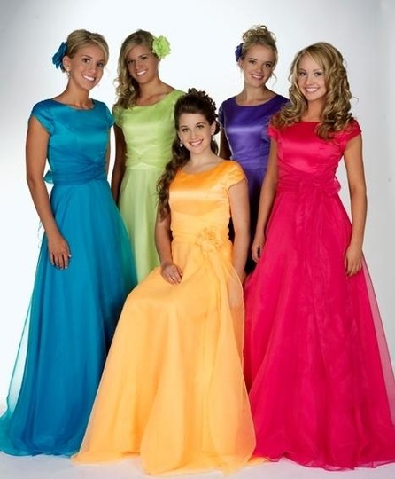 EnVogue Bridal Light Yellow B213 Modest Prom Evening Bridesmaid Dress Dress