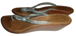 Tommy Bahama SILVER Sandals